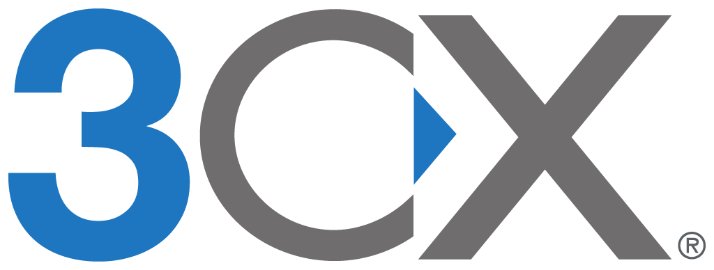 3CX Cloud Hosted Phone System logo