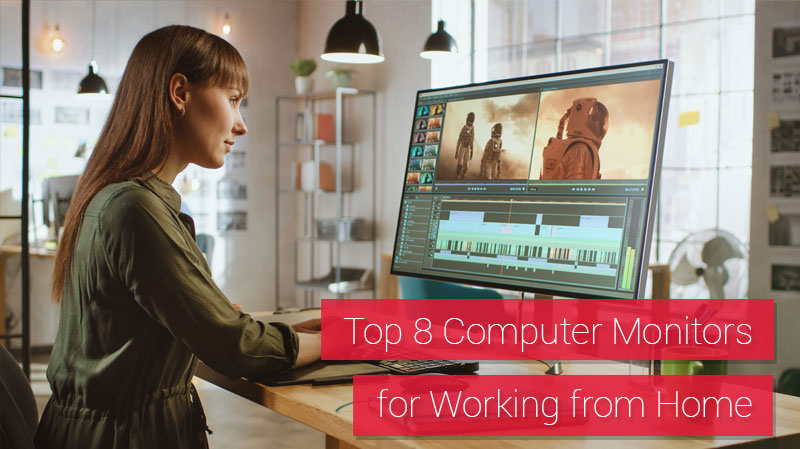 Top 8 Computer Monitors for Working from Home