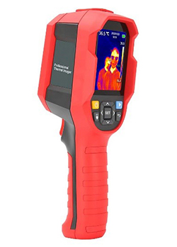 Handheld infrared temperature scanner